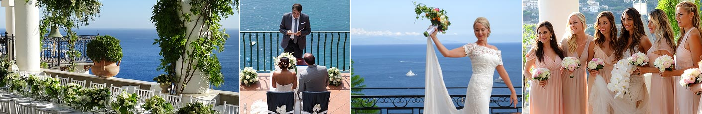A fabulous wedding on the Amalfi Coast